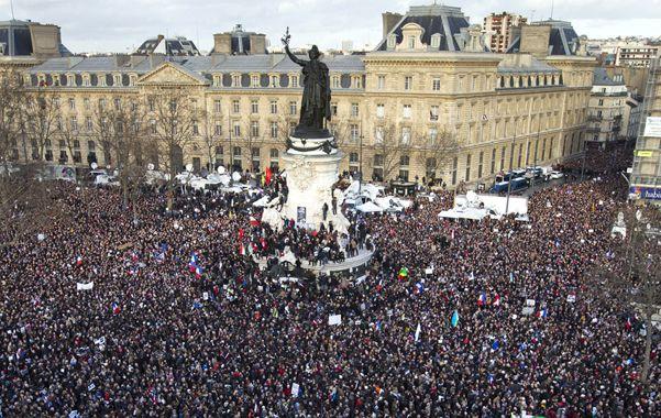 París vivió una jornada histórica.