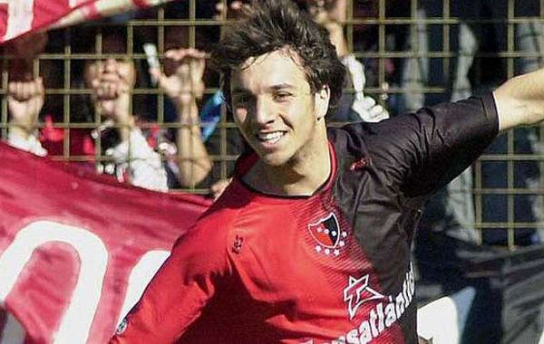 Nacho Scocco le agradeció al profe Ale González que hace cinco semanas lo entrena en Adiur.