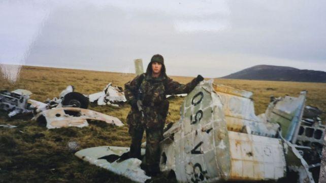 El avión Dagger de la Fuerza Aérea Argentina que piloteó el teniente Héctor Ricardo Volponi -muerto en combate el 23 de mayo de 1982- iniciará su regreso al país.