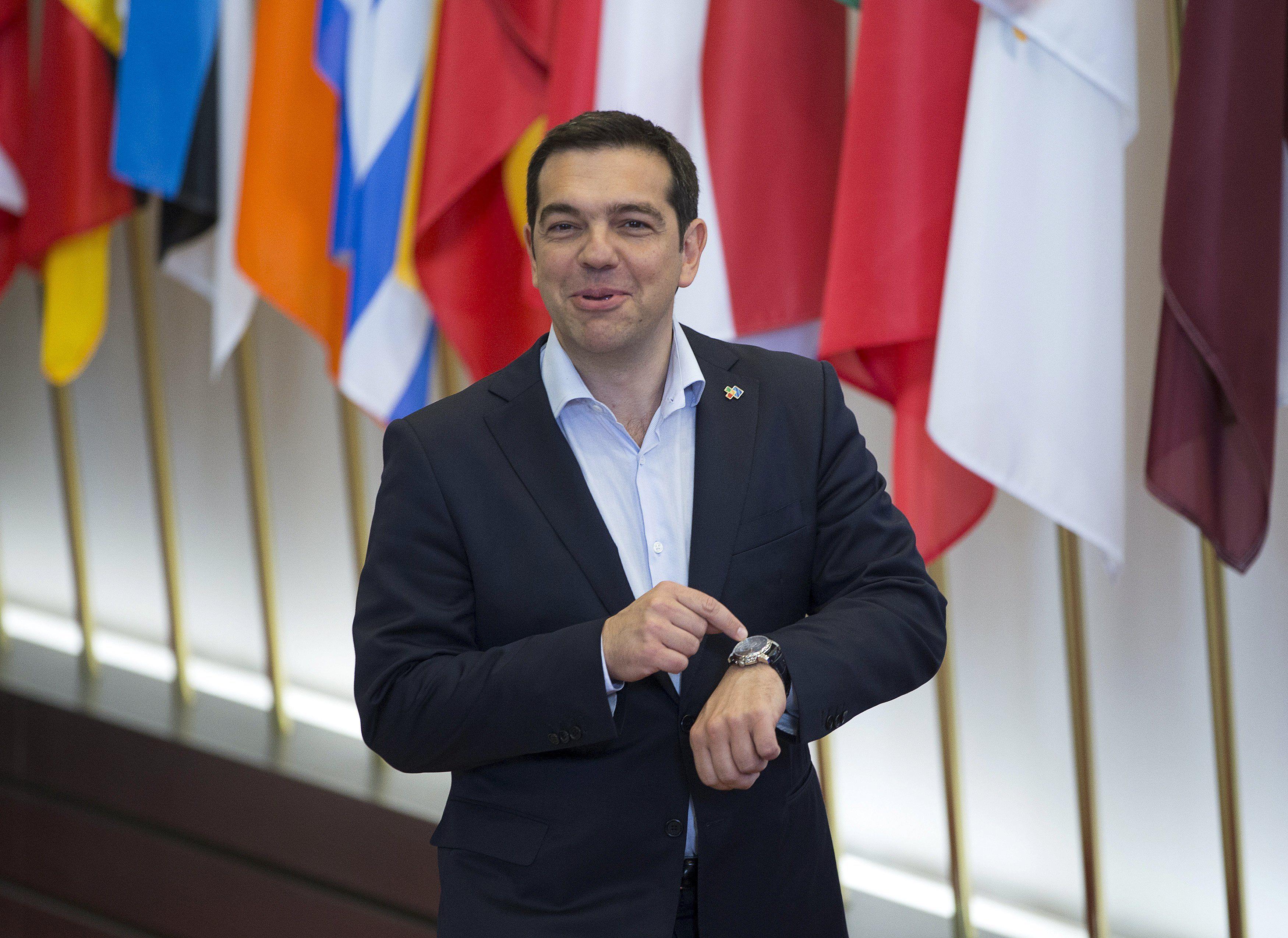 Llega la hora. El premier Alexis Tsipras se plantó. Europa y el FMI