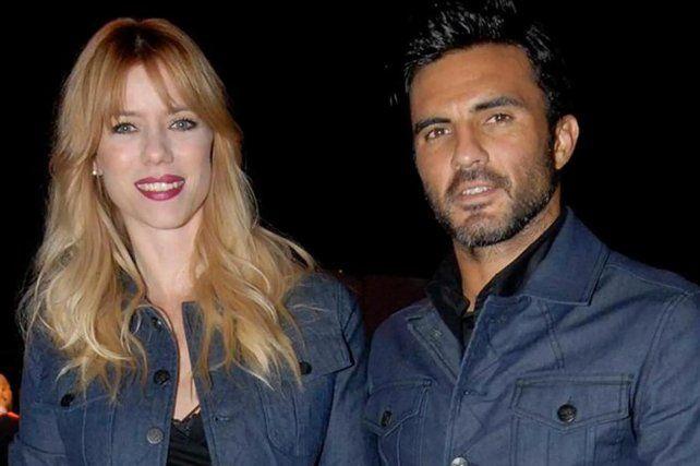Tiempos felices. NIcole Neumann y Fabián Cubero cuando eran pareja.