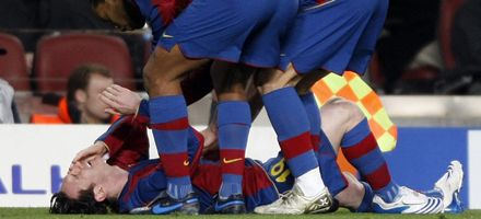 Las lesiones de Messi