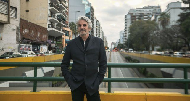 El músico Rubén Goldin.
