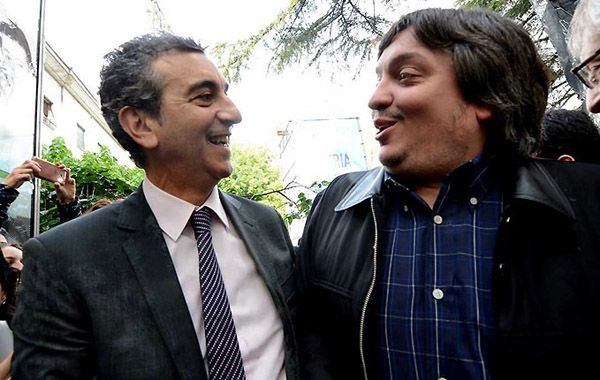 Randazzo dijo que el hijo de la presidenta Cristina Fernández es un gran candidato.