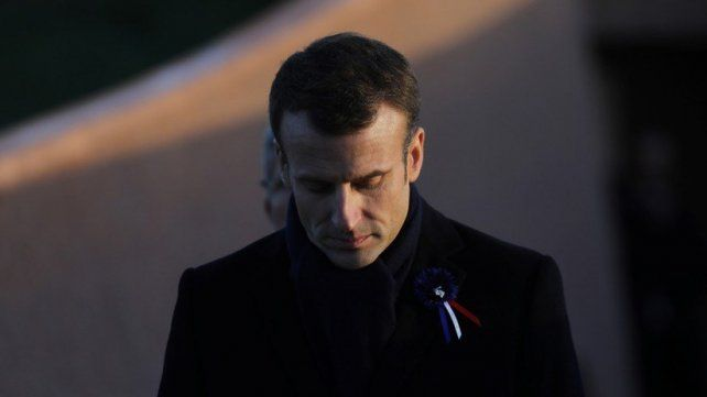 Macron se mostró conmocionado y triste por el incendio