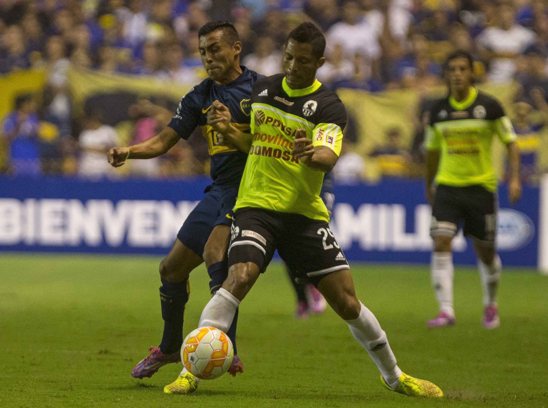 Federico Carrizo anotó uno de los cinco goles con los que el xeneize goleó la semana pasada a Zamora.