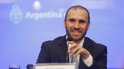 El ministro de Economía, Martín Guzmán, dijo que el aumento del dólar continuará por la inflación.