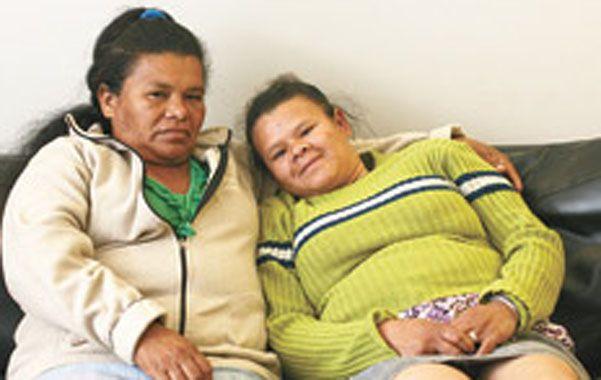 Increíble. Rita Taborda y su hija Norma se reencontraron en Buenos Aires.