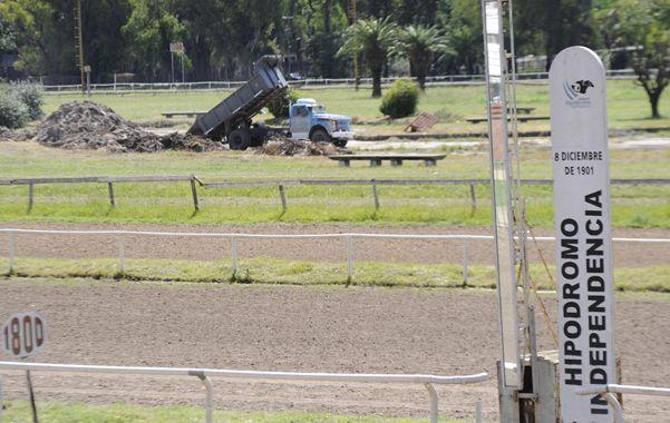 Complicaciones. La recuperación del predio del parque Independencia viene plagada de obstáculos.