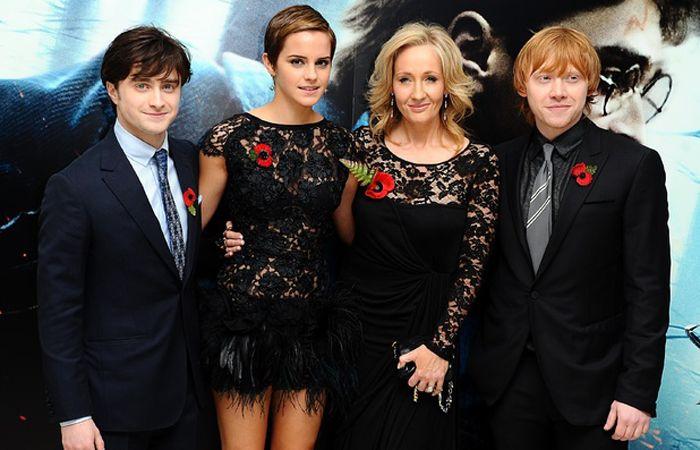 Rowling es la autora de la saga más vendida en todo el mundo.