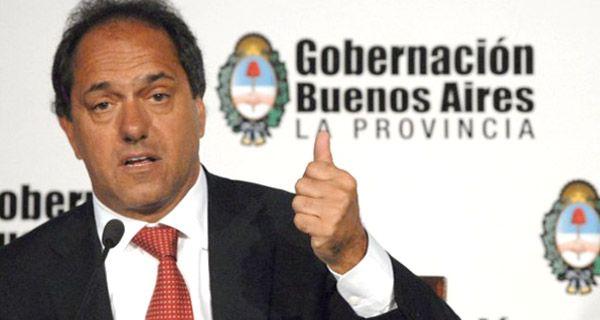 Scioli reelecto: Cada vez más argentinos se dan cuenta que este es el camino