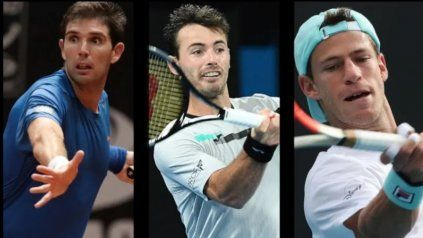 Delbonis cayó ante Rafael Nadal, Londero con Filip Krajinovic y el Peque frente a Casper Ruud.
