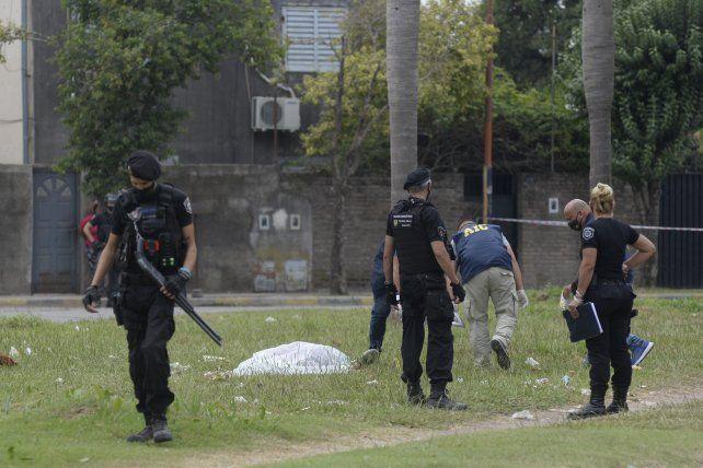 En febrero. El asesinato a Marcelo Procopp se produjo en el momento en el que velaban a su hermano Javier.