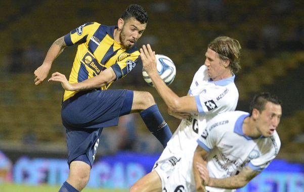 La última vez. Nery Domínguez estuvo en el Kempes cuando Central cayó con Belgrano 1 a 0 en 2014. (Gustavo de los Rios / La Capital)