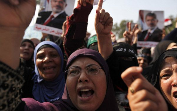 Apoyo. Las manifestaciones no han sido solo contra el presidente