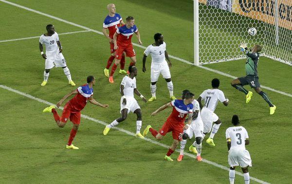 Estados Unidos tuvo el mejor arranque pero Ghana casi se lo arruina al final