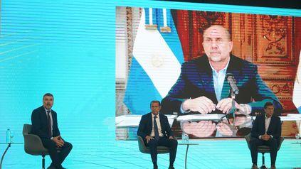 El gobernador Perotti disertó en forma virtual en el 57º Coloquio de Idea que se realiza en Buenos Aires.