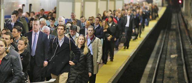 """Ayer la gente volvió a usar el """"metro"""" neoyorquino"""