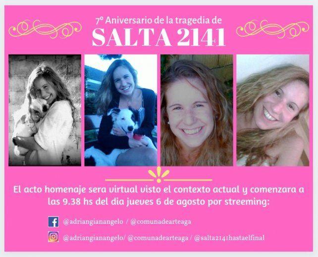 Este año el acto por la tragedia de calle Salta será virtual