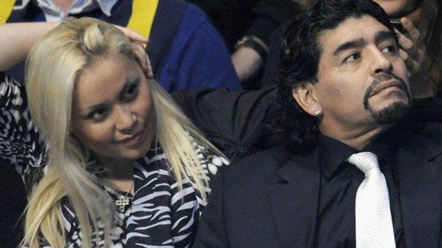 Qué dijo Verónica Ojeda sobre el encuentro de Maradona con su nieto