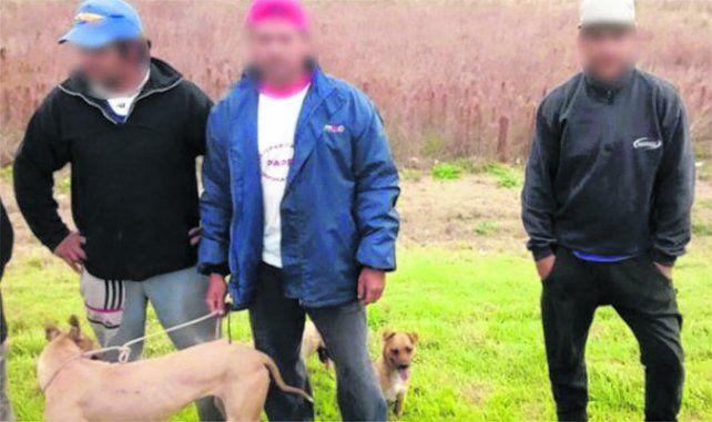 Demorados. El sábado encontraron a tres hombres con 5 gomeras.