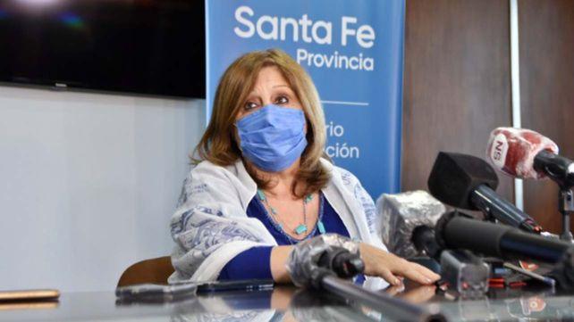 La ministra de Educación de Santa Fe