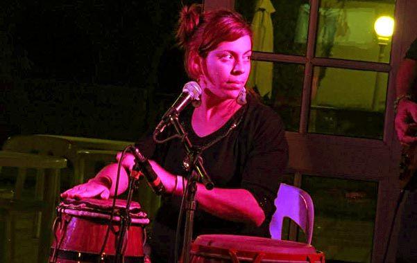Juventud. Guillermina Milocco tenía 31 años. Venía de la música y la plástica.