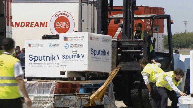 Rossi: Se están fraccionando los lotes de la Sputnik V que se enviarán a cada provincia