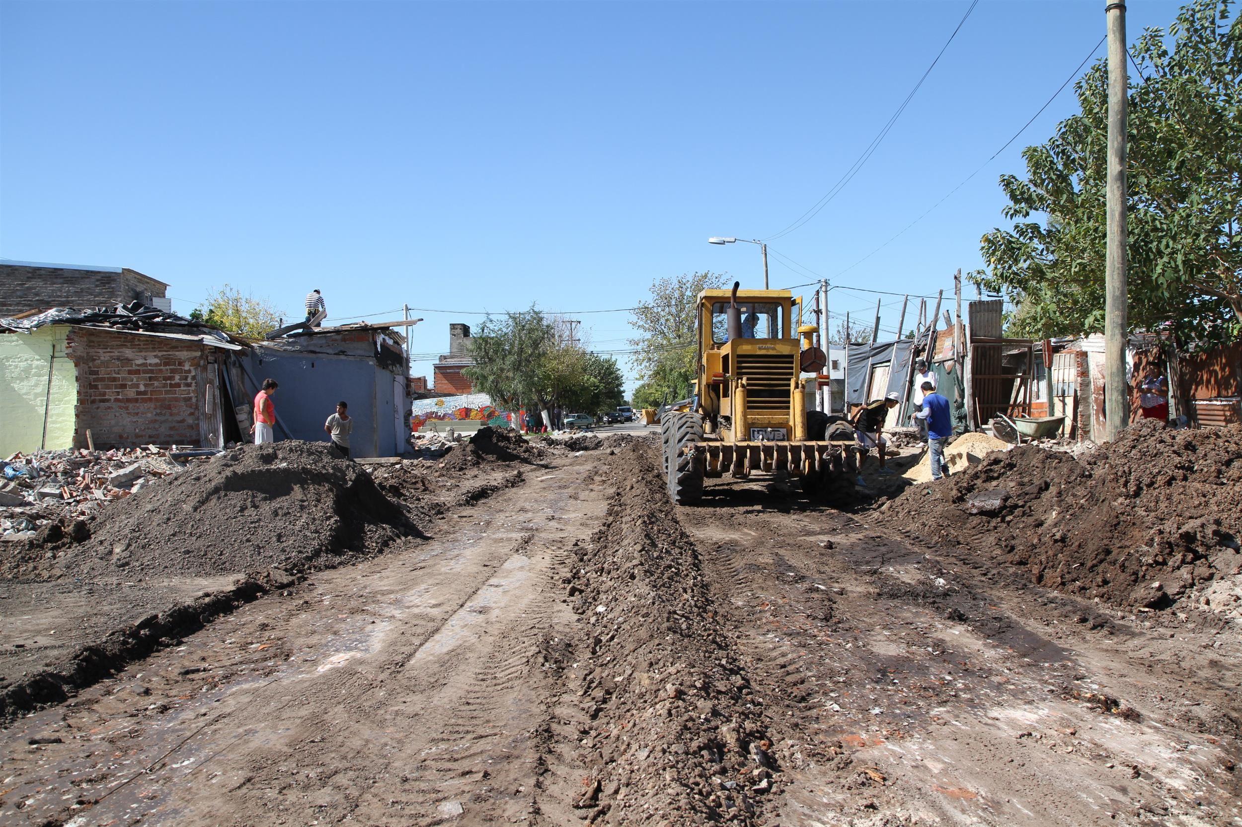 El plan contempla la apertura de calles en zonas marginales para llevar urbanización.