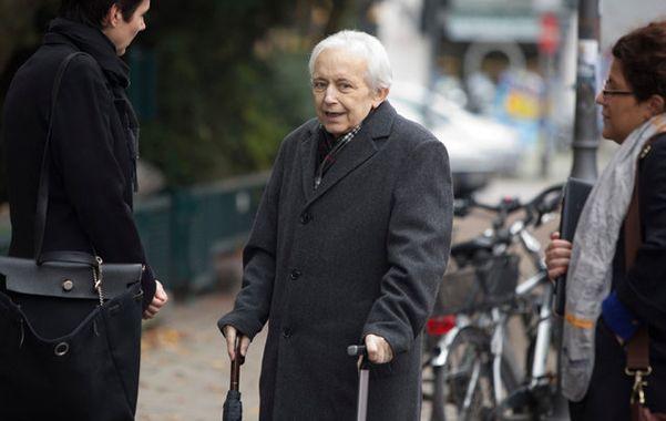 Personaje. Cornelius Gurlitt en sus últimos años. Falleció a los 81.