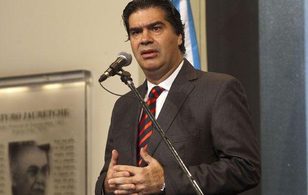 Defensa. Jorge Capitanich dijo que De Vido no tiene ninguna responsabilidad.