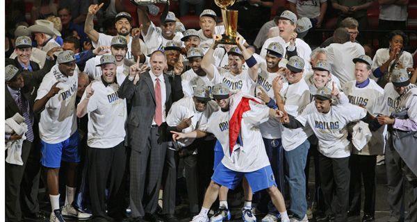 Dallas festejó su primer título en la NBA tras vencer a Miami