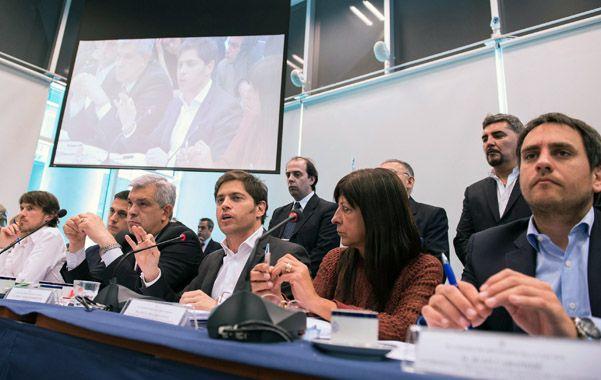 Debate. Cinco comisiones de Diputados discutieron en un plenario los proyectos enviados por el Poder Ejecutivo.