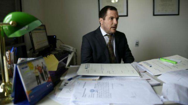 El fiscal Leandro Lucente.