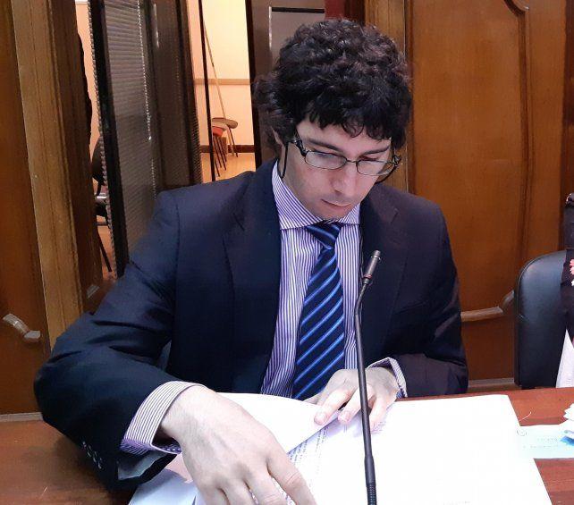 El fiscal Matías Broggi formuló las imputaciones