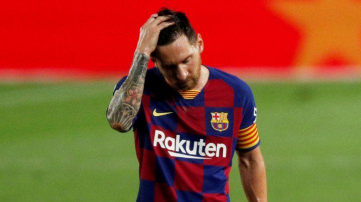 Asumo mis errores, que si existieron fueron solo para hacer un mejor y más fuerte Barcelona, reflexionó Messi.