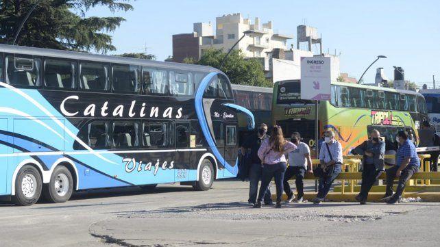 La Estación de Omnibus seguirá bloqueada al menos hasta las 18 de hoy.
