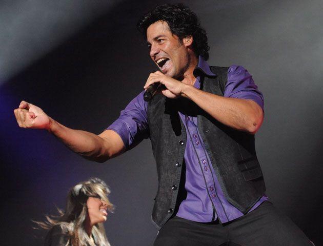 El cantante puertorriqueño en su último paso por Rosario. (Foto:S.Meccia)