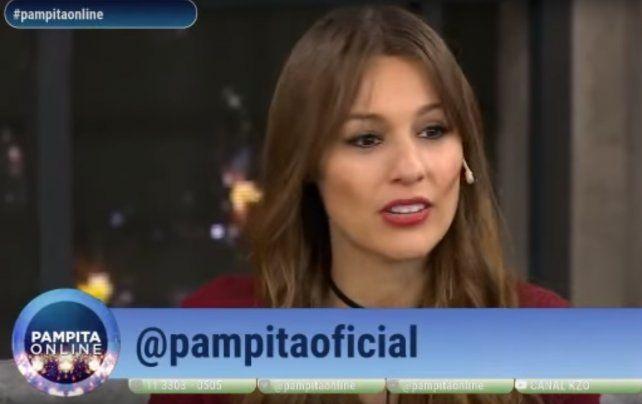 La bronca de Pampita por el juego que le hicieron a Mónaco para que reconozca su cola