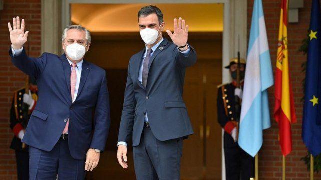 Ambos mandatarios se habían reunido el 11 de mayo en Madrid.