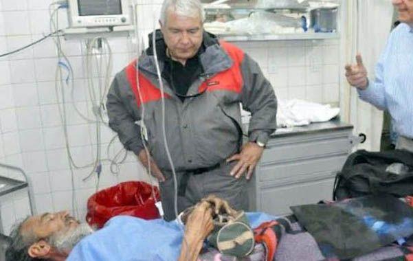 Vivir para contarla. Raúl Fernando Gómez Cincunegui permanece en terapia en el Hospital Rawson