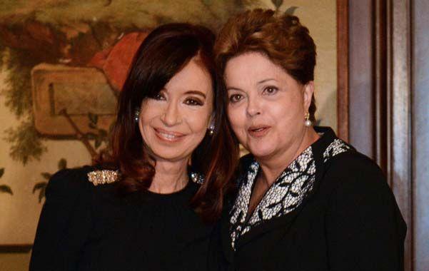 Encuentro bilateral.Cristina y Dilma analizaron las tensiones comerciales al interior del Mercosur.
