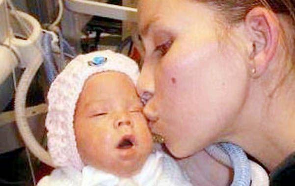 Luz nació el 3 de abril de 2012