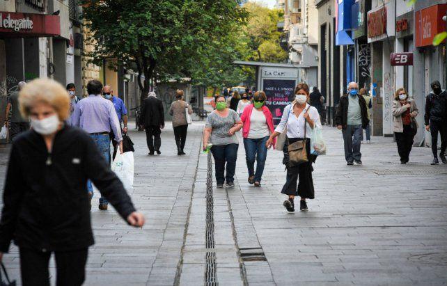 Los comerciantes de Rosario espran que las ventas mejoren.