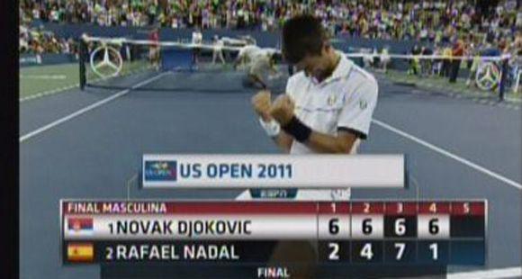Djokovic aplastó a Nadal y se quedó con la final del abierto de Estados Unidos
