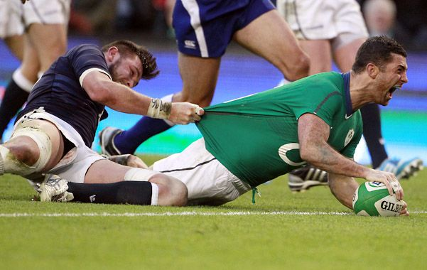 Rugby: Irlanda no dejó dudas en el Seis Naciones