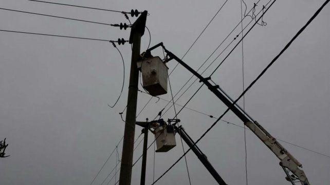 Se registran cortes de energía en distintas zonas de la ciudad