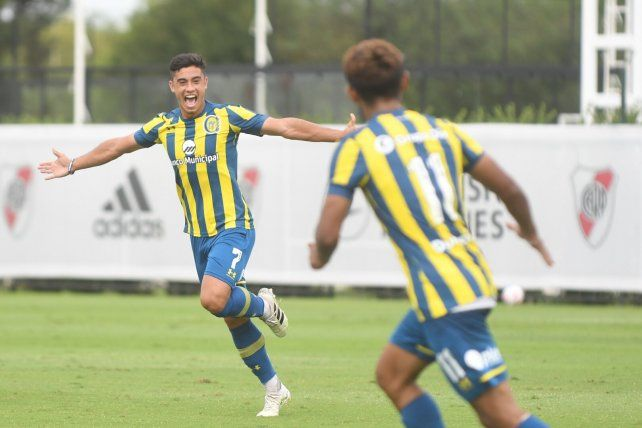 Giaccone anotó en el empate de Central ante River.