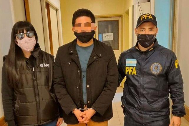 El presunto autor de las amenazas contra Romina Manguel fue detenido este lunes en El Talar