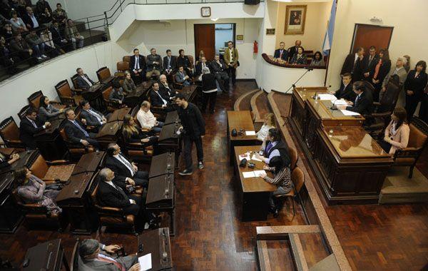El Concejo se preparaba para sesionar hasta la madrugada.